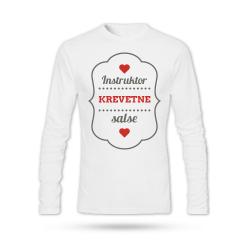 Instruktor krevetne salse - Muška majica