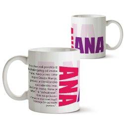 Šolje sa imenima - Ana