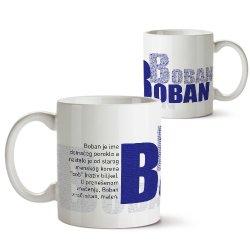 Šolje sa imenima - Boban